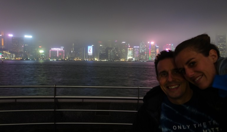 Hong Kong in three days under the rain