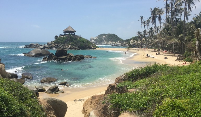Four days in Santa Marta: Tayrona park and Minca