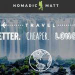 Nomadic Matt logo